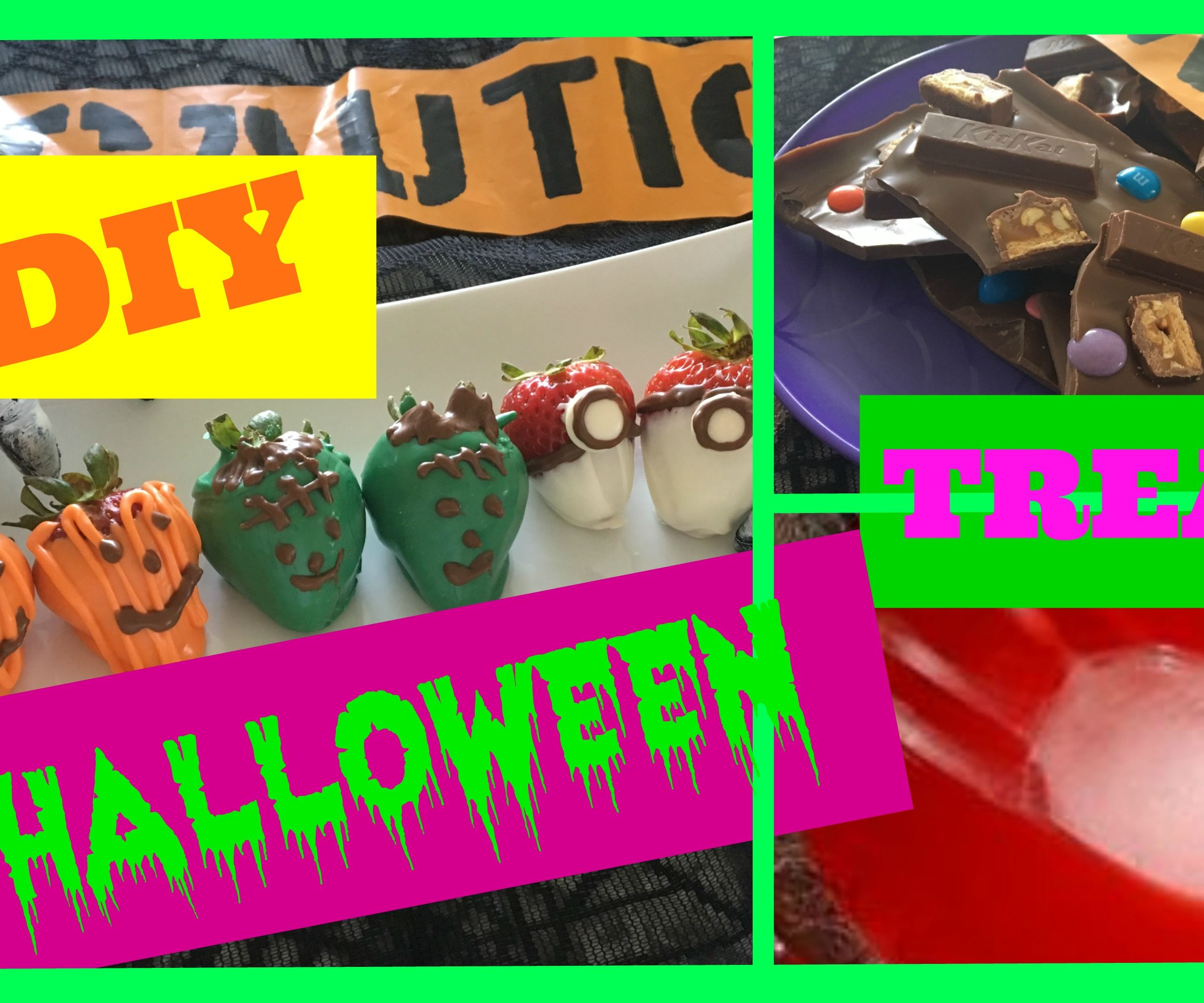 Halloween Treats and DIY - LAST MINUTE IDEAS :)
