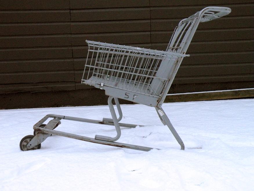 Shopping Cart Chair