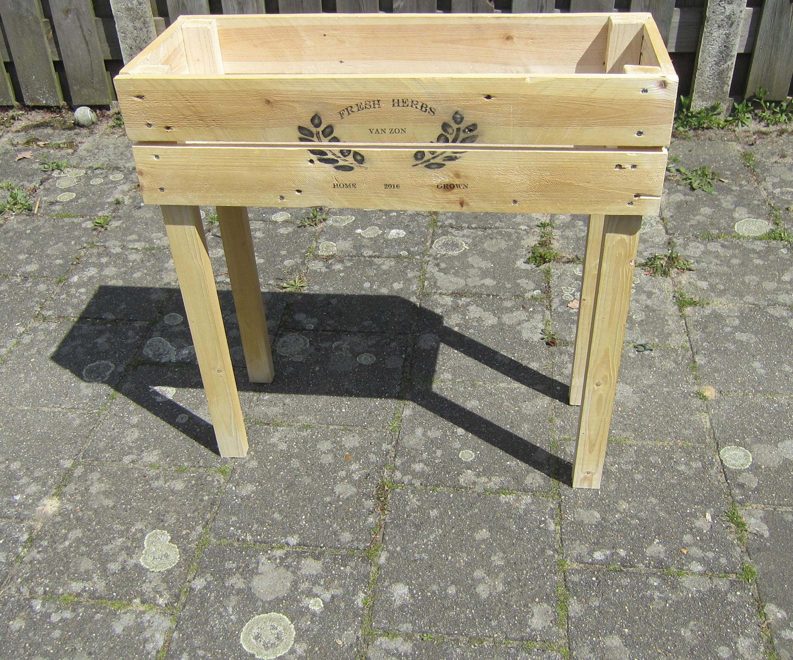raised garden box 2.0