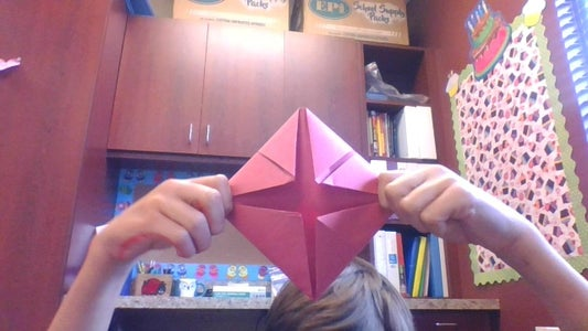 Fold the Corners As Shown