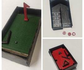 Mini Golf, Miniaturized Pool/Billiards and ShuffleBoard