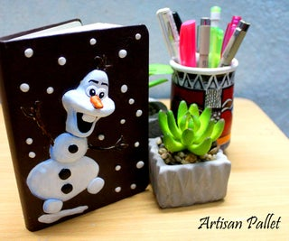 Disney's Frozen Inspired Diary Cover