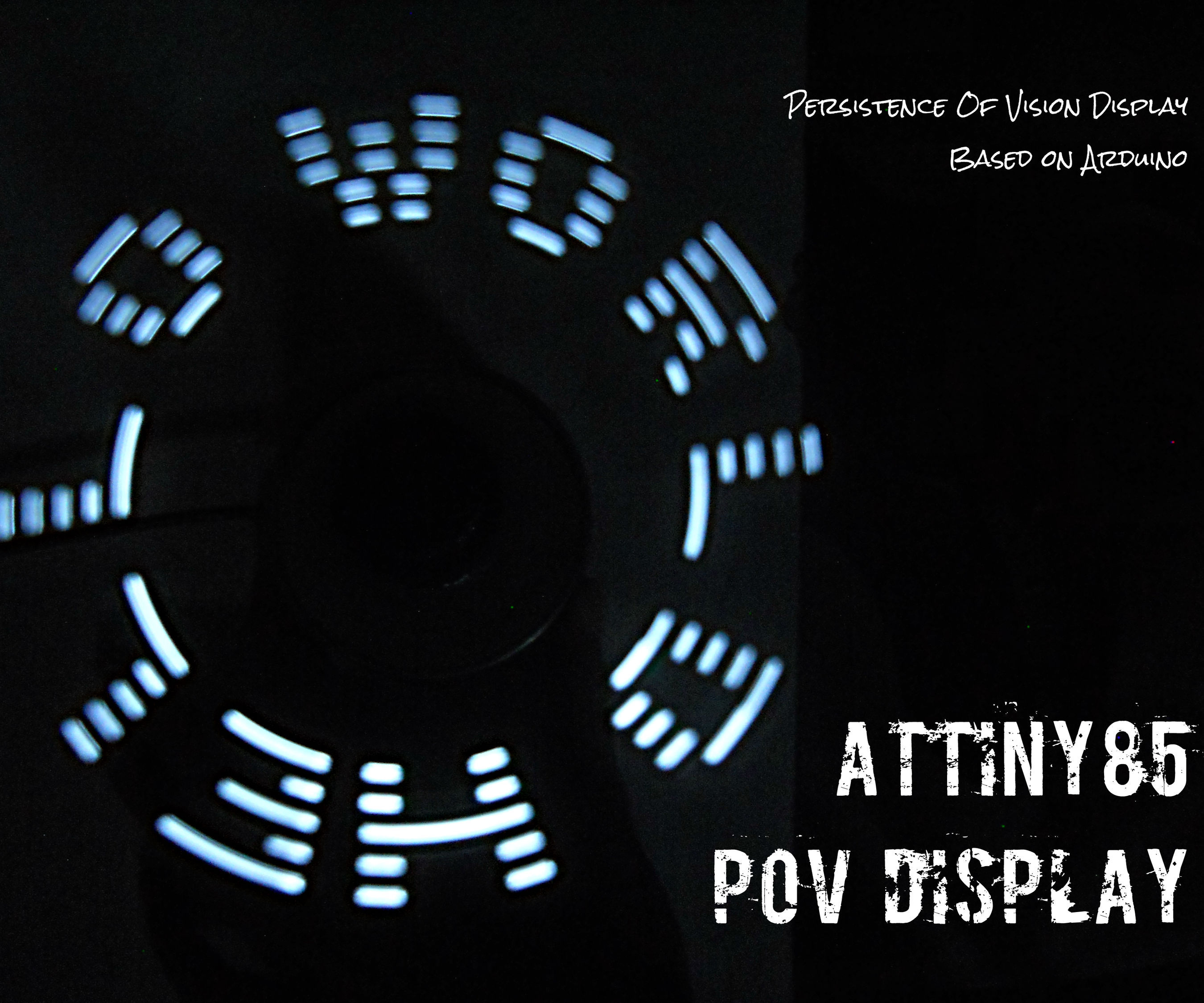 ATtiny85 POV Display