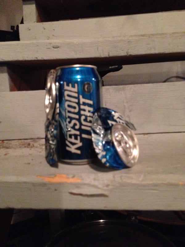 How to Crush Cans