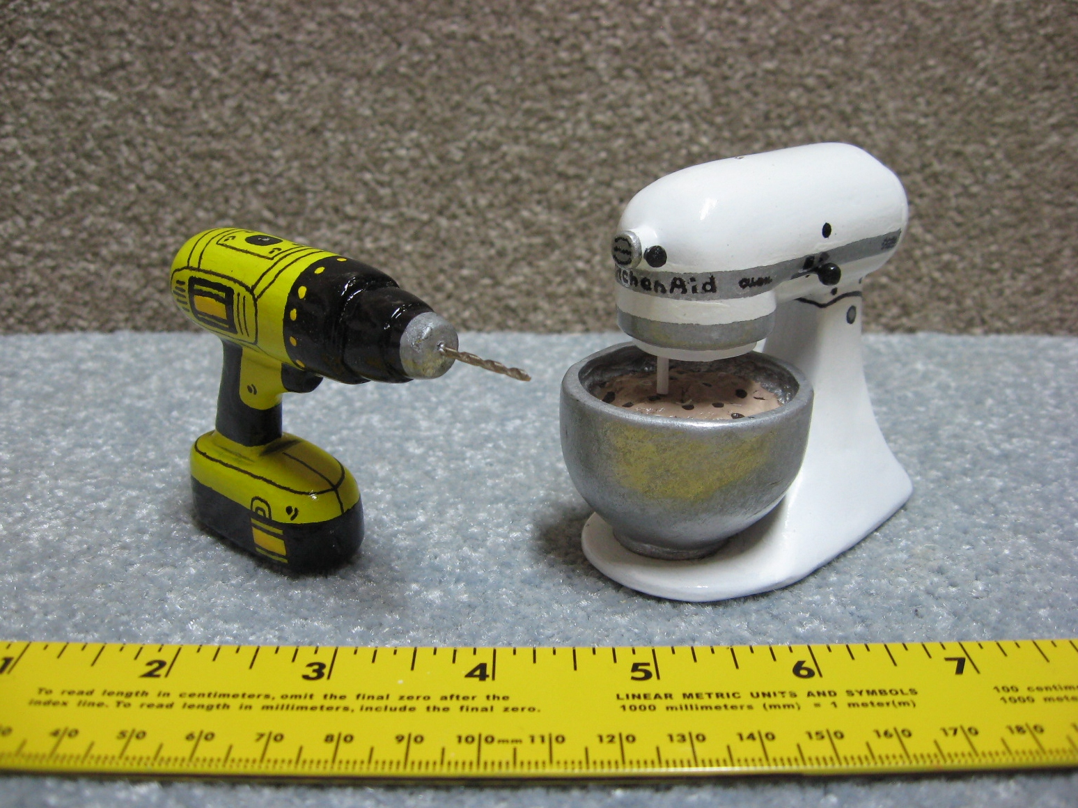 Kitchenaid and Power Drill Christmas Ornaments