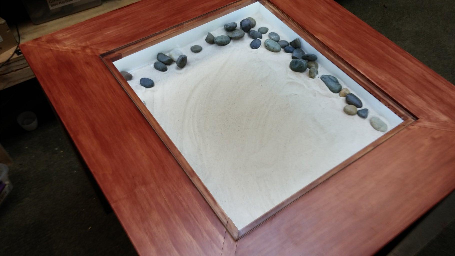 Making the Rock Garden