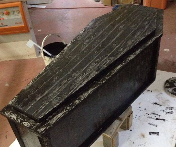 Coffin with Skeleton (Work In Progress)