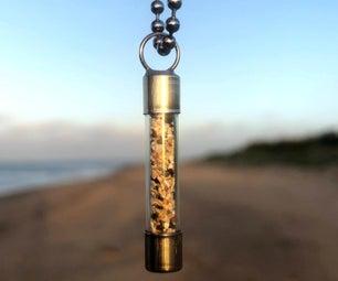 瓶子里的沙子-保险丝挂件