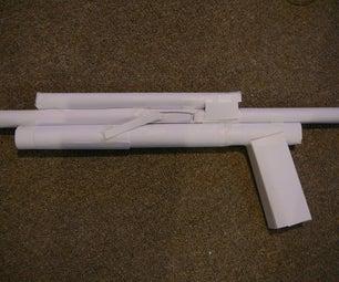 UNDERMIG GREAT PUMP ACTION SHOT GUN!!!