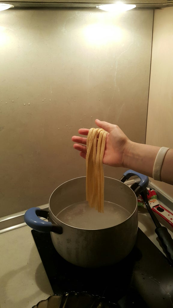 Boiling the Pasta