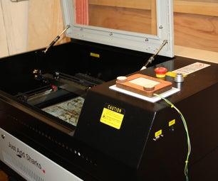 Arduino Based Etch a Sketch Laser Cutter.