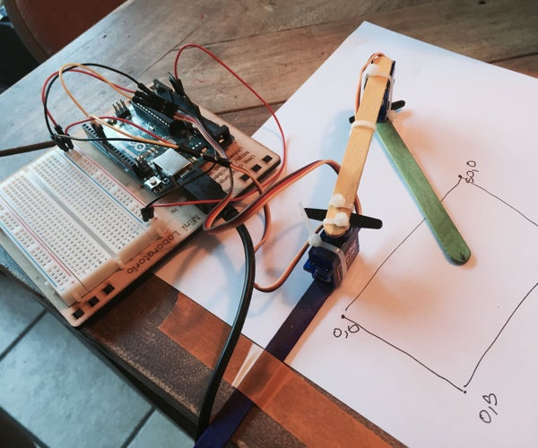 Simple Arduino XY Plotter