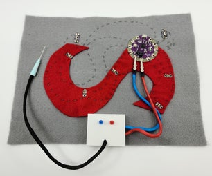 E-Textile Logic Probe - Debugging Tool