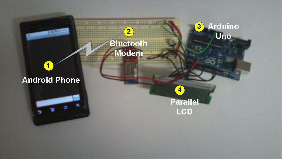 Android talks to Arduino