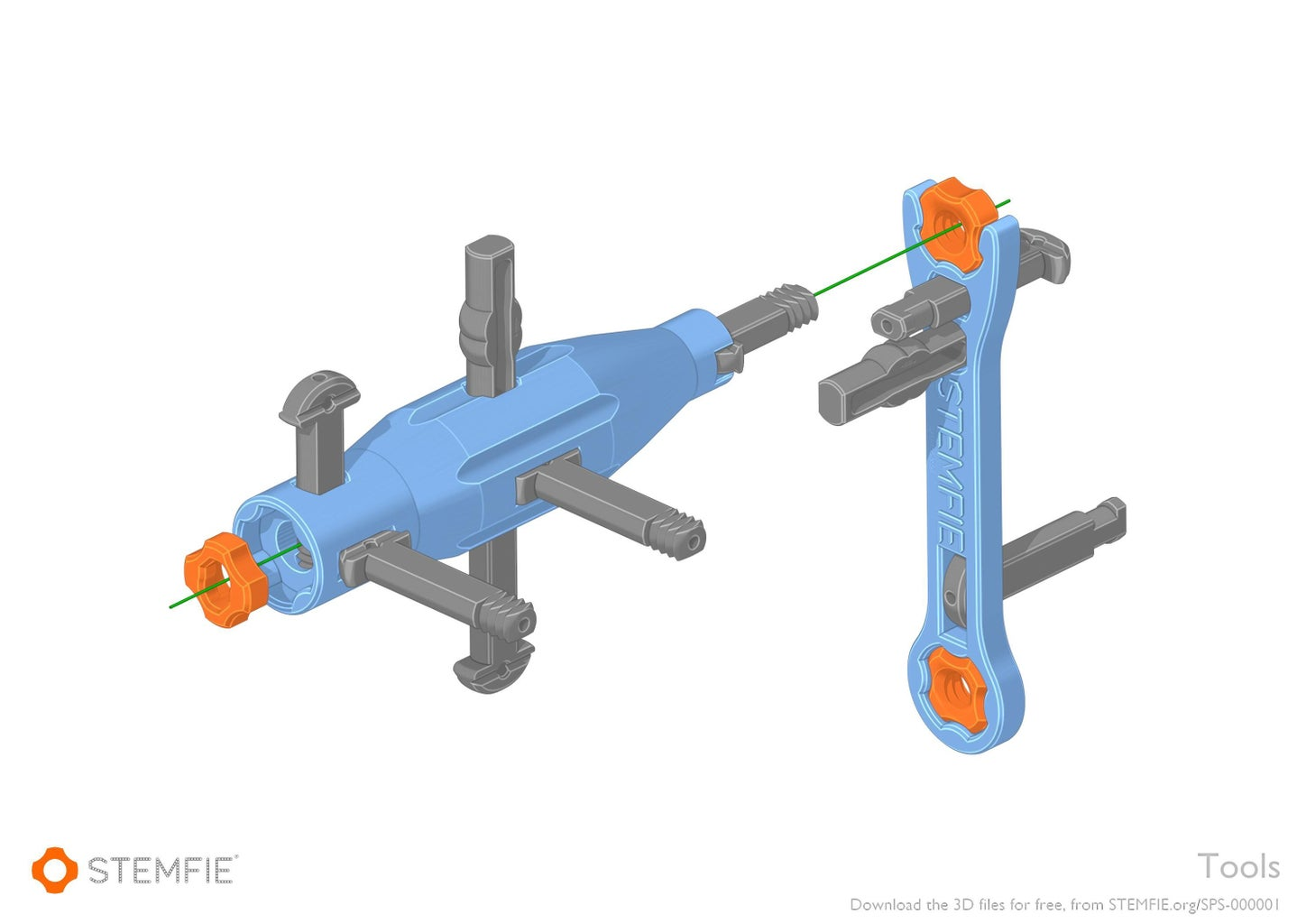 Download and 3D-print All Parts