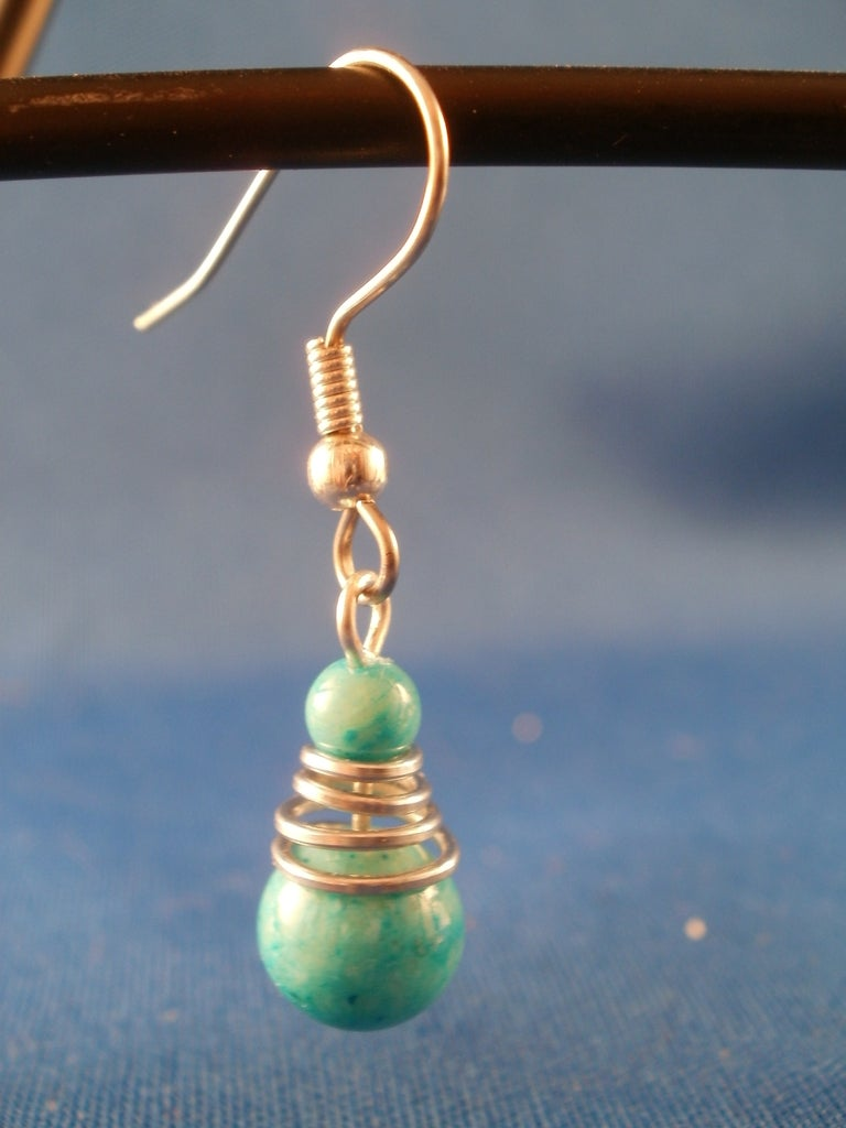 Cone Shaped Bead Cap Out of a Paper Clip