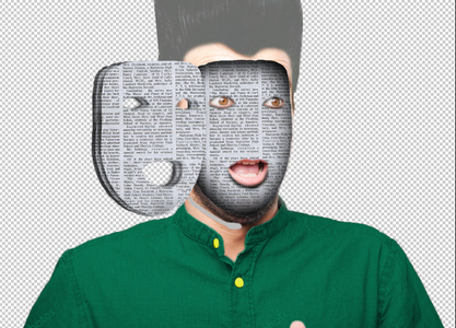 Step 8 - Shading the Paper Face Pages
