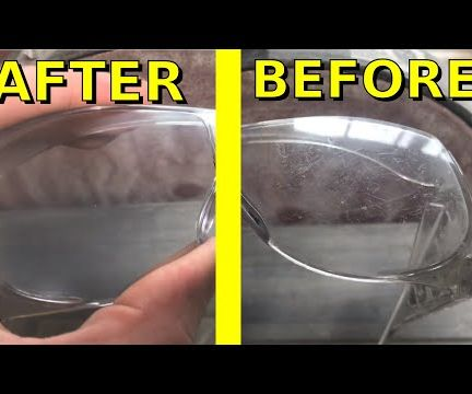 Polishing BIG SCRATCHES From My Safety Glasses