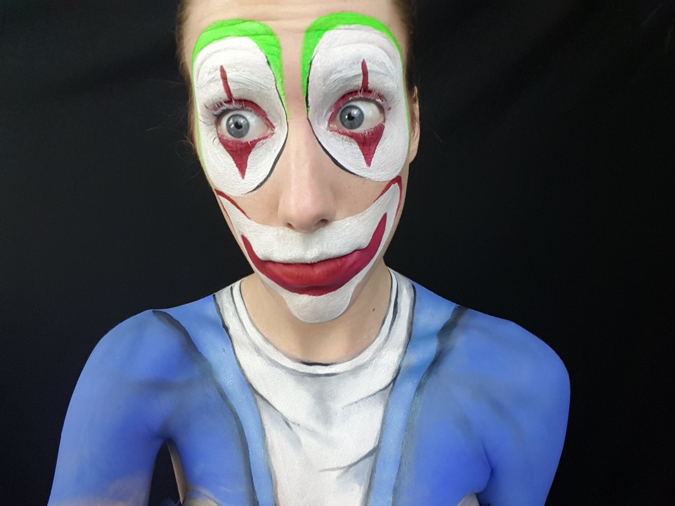 Clown Face Done