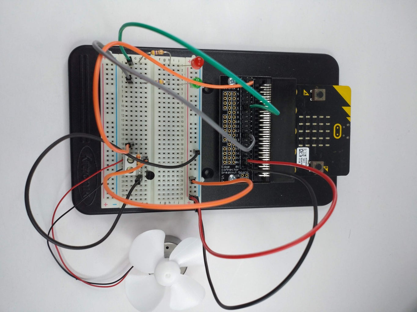 Intro to Temperature Controlled Fan