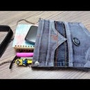How to make bag from old jeans pant
