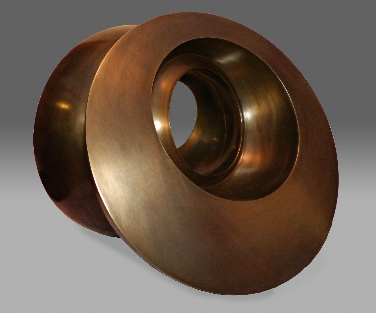 Spun Steel and Waterjet Cut Sculpture #2