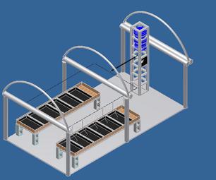 Autonomous Greenhouse Factory
