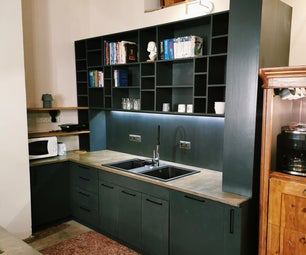 Kitchen With Many Cool Features