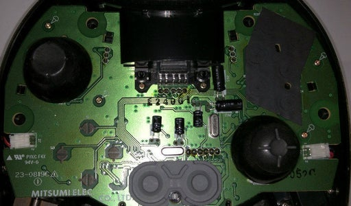 Disassemble the Controller