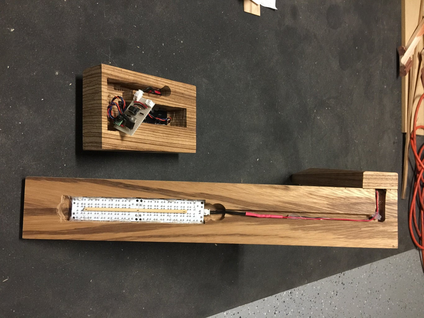 The Lamp - Adding the Electronics