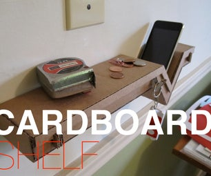 Amazing Cardboard Shelf!