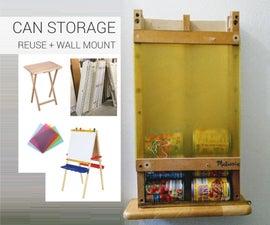 墙壁安装可以存储