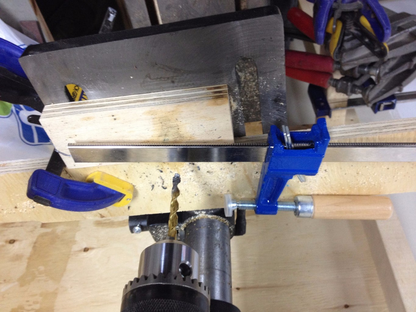 Cut Clamp Feet Off & Drill the Base