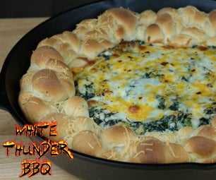 Pull Apart Spinach Dip Bread Recipe