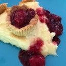 Raspberry Coconut Creme Pie