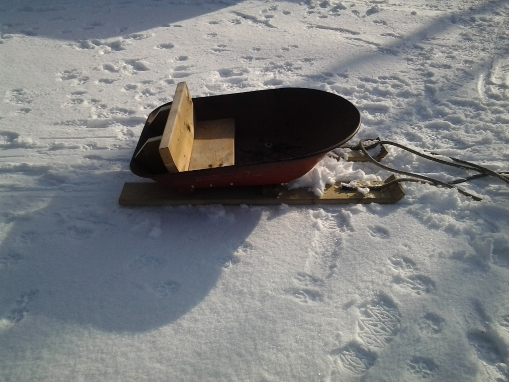 Red neck sled