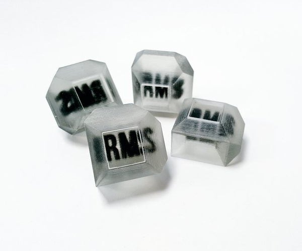 RMS - 3D Printing Clear RMS Brick With the Objet