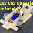 Slot Car Chassis for Bricks