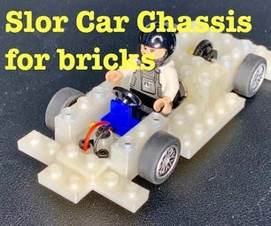 Slot Car Chassis for Bricks