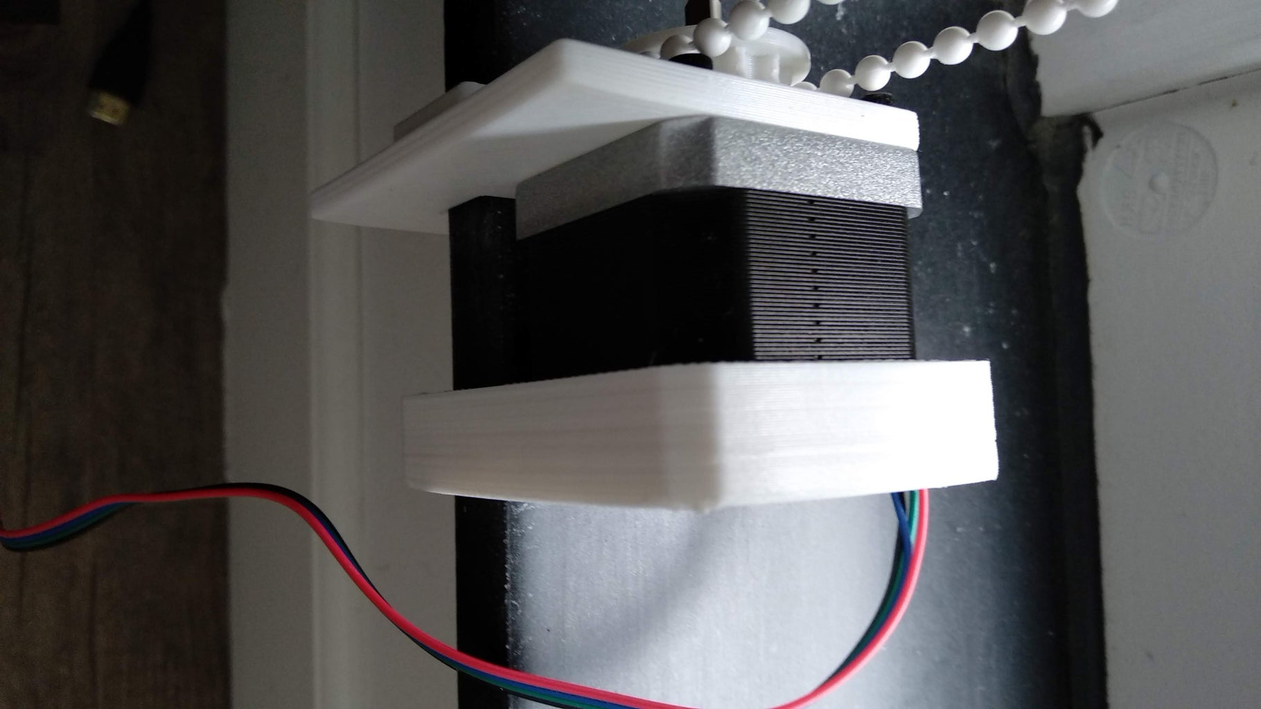 Stepper Motor, Gears and Handles