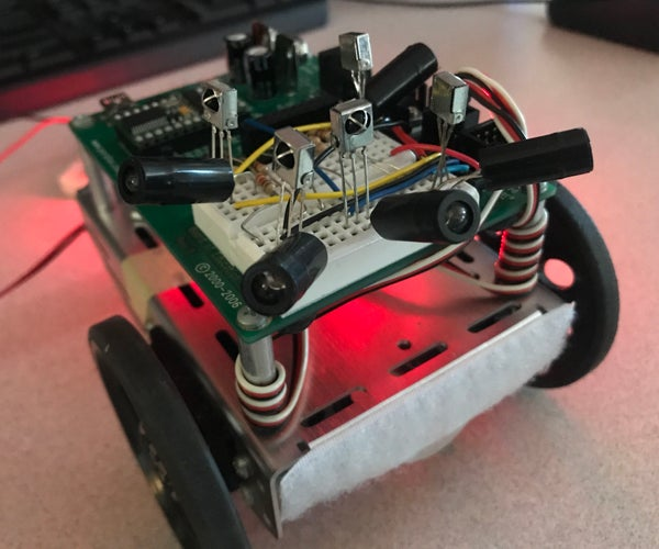 Boe-Bot With Infrared Detectors