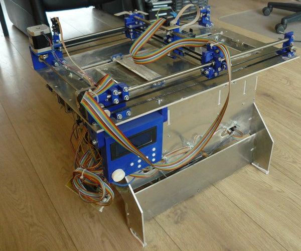 Plan B, an Open Source 3DP (powder and Inkjet) 3D Printer