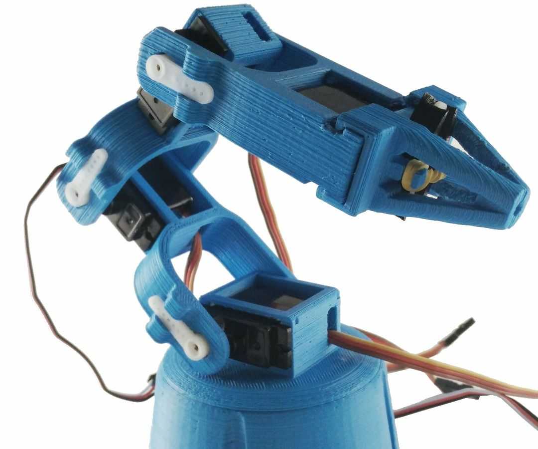 Make your own 3D Printed Robot ARM