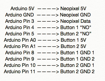 Connecting the Wires to the Arduino