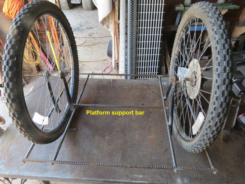 Weld Support Rebar Across the Inner Rebars