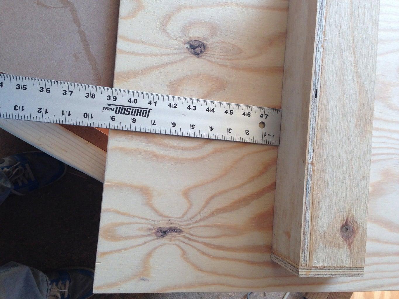 Build Doors & Interior Shelves