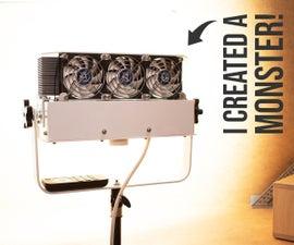 200W, CRI-97, 20000-lm Studio Light (Auto Fan Speed + Remote Dimming)