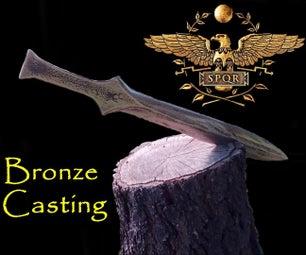 Casting Bronze Dagger. Centurion. Aluminum Bronze