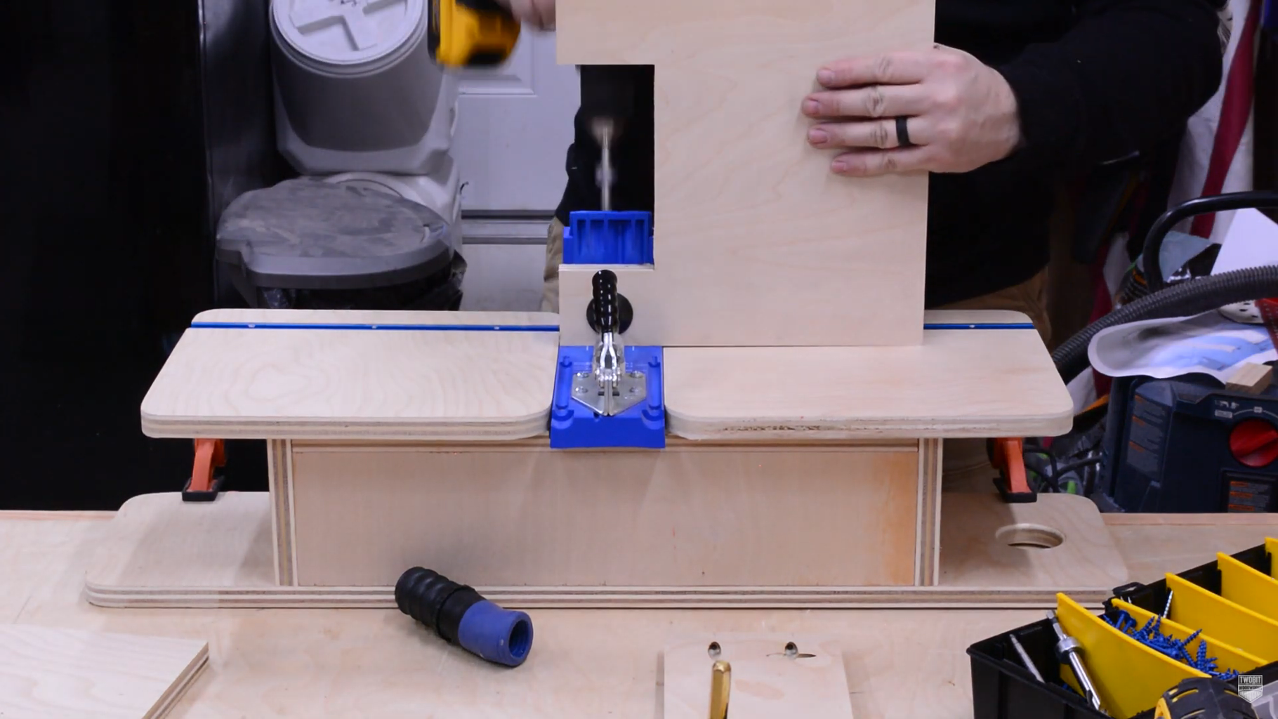 Add Pocket Holes for Joinery
