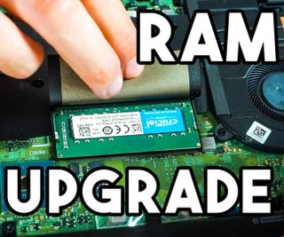 How to Upgrade the RAM on a Dell Inspiron 15  7501Laptop
